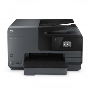 HP Officejet Pro 8610 e-All-in-One, Front facing, no output