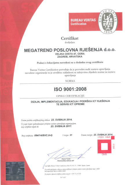 mpr quality policy and certificates
